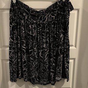 Lane Bryant Flippy Skirt, 22/24